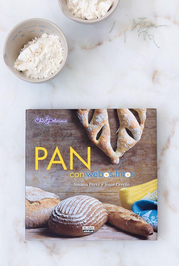 """Libro """"Pan con webos fritos""""  www.foodandcook.net"""