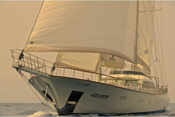 Sailing aboard the Alessandro Sailboat in Greece