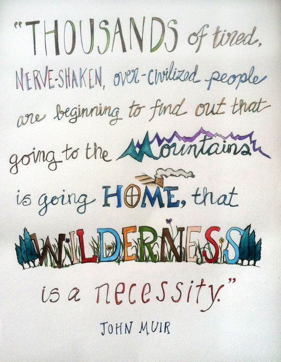 Hey, I found this really awesome Etsy listing at https://www.etsy.com/listing/155037185/going-to-the-mountains-john-muir-quote