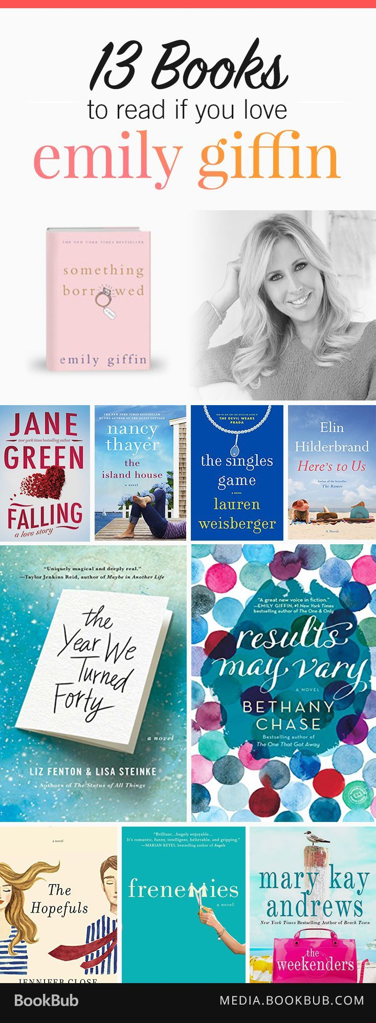 If You Love Emily Giffin, Check Out These 13 Great Books