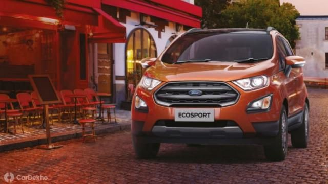 Ford India Has Launched The Ecosport With Bs6 Engine Due To The Engine Upgrade Its Price Has Increased To Rs 13 000 It Is The First Sub Ford Ecosport Ford Product Launch
