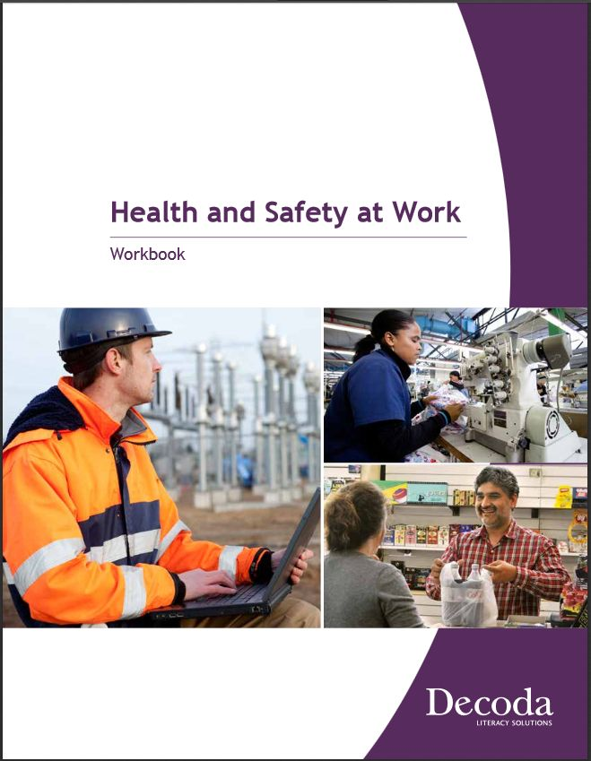 The student workbook for the  Building Resilient Workers: Health and Safety at Work curriculum.