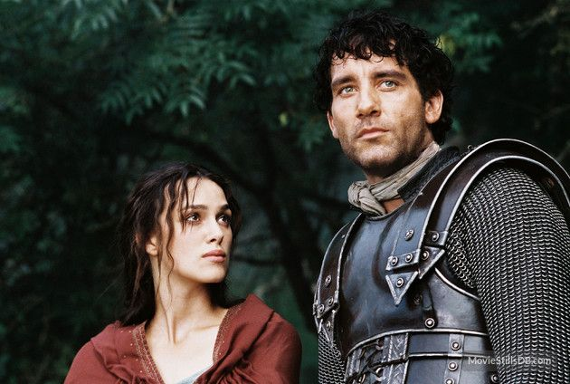 King Arthur (2004) Keira Knightley and Clive Owen as Guinivere and Arthur