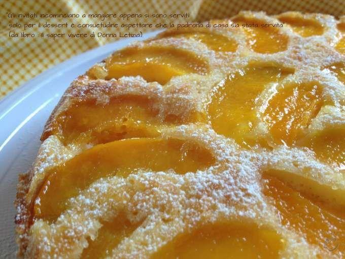 Buona in ogni momento della giornata. - Ricetta Dessert : Tarte tatin di pesche sciroppate da Patatenovelle