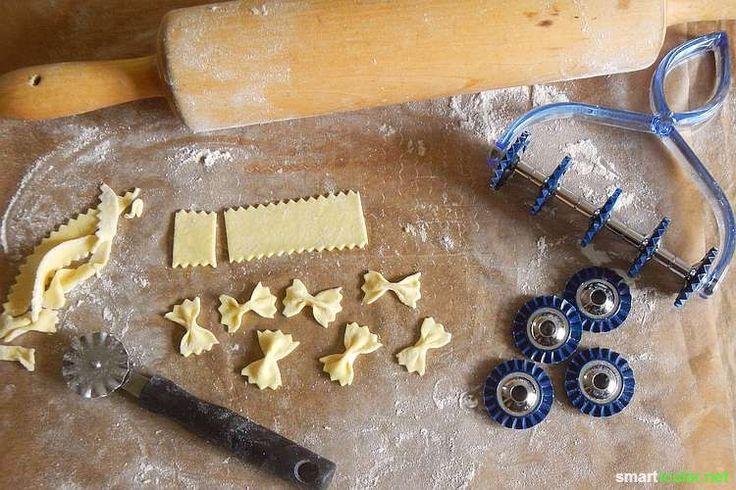 Pasta ohne Nudelmaschine selbermachen - minimalistisch, einfach und kreativ