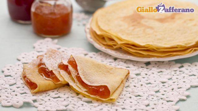 By Sonia Peronaci - Giallo Zafferano - Crepes dolci e salate (ricetta base)