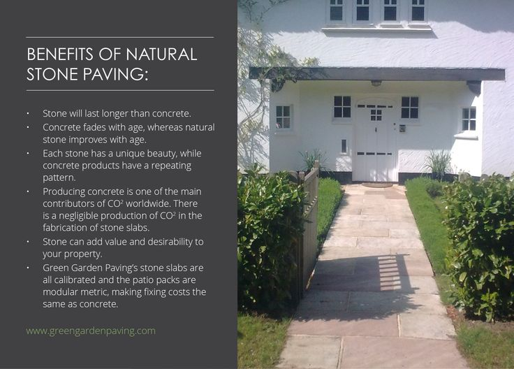 Natural stone paving has a wide range of benefits that can help to improve your home.