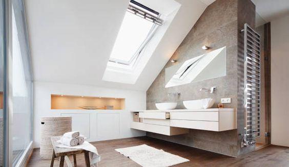 InterieurBlog: Badkamer Met Schuin Dak Bewonen.nl Badkamerxxl.nl