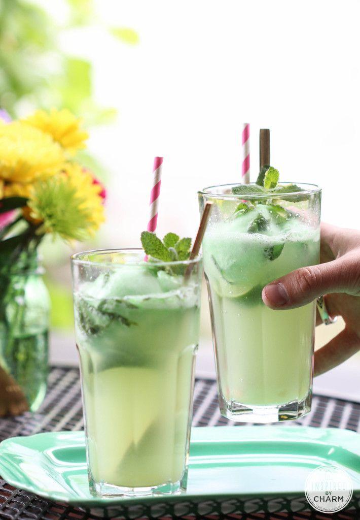 Ginger & Mint Lime Floats