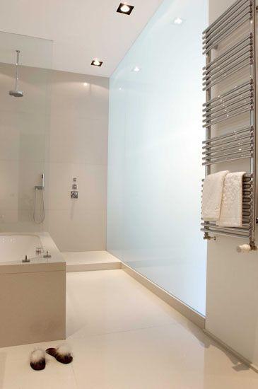 Clean, elegant bathrooms