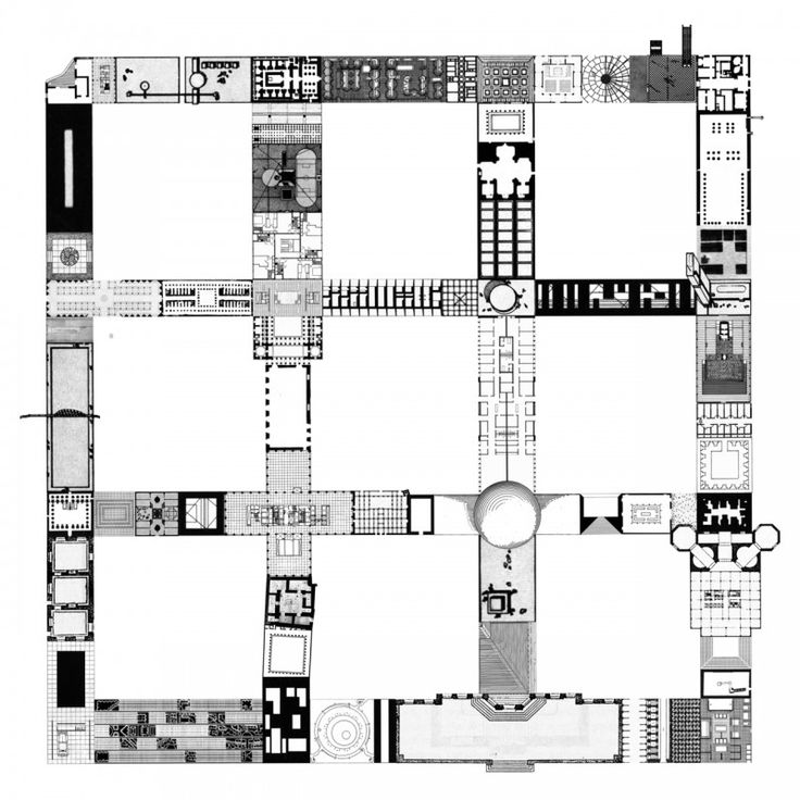 Andrew Kovacs, Archive of Affinities, Plan For A 9 Square Grid