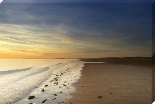 Titchwell Beach - Norfolk Art Print by Richard Osbourne Easyart.com