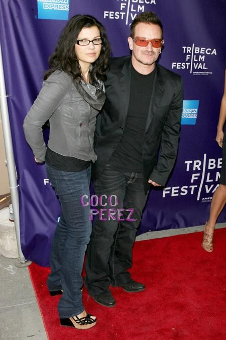 Wenn - Ali Hewson and Bono - could she look any cuter?