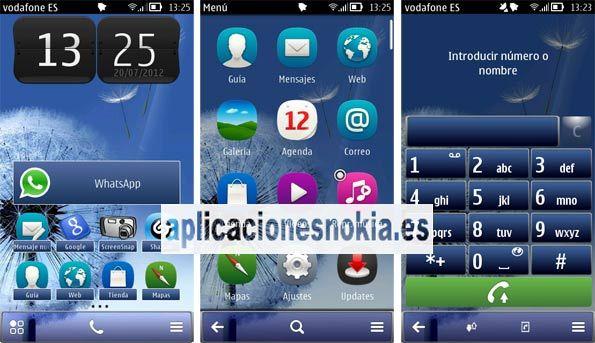 Tema Samsung Galaxy S3 para Nokia http://www.aplicacionesnokia.es/tema-samsung-galaxy-s3-para-nokia/