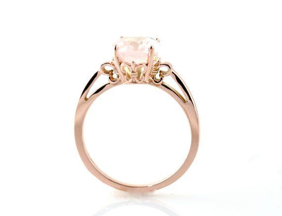 rose gold & rose quartz