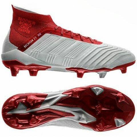 Adidas Predator 18+ Ivan Rakitić custum Sko fotball. ฟุตบอล