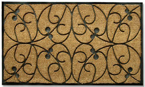 """Apples Heavy-duty Coir and Rubber 30""""x48"""" by Home and More Inc. $39.99. Resists fading, mold and mildew. Ships in 1-2 Days. Reassuring, non-slip rubber that won't crack or buckle. Makes a great gift - Free gift enclosure. Heavy-duty, holds up to consistent traffic. Momentum Mats has been a trusted manufacturer for 28 years and takes great pride in the fact that we use only 100% natural coir and rubber in our doormats.  Our manufacturing facilities have the most adva..."""