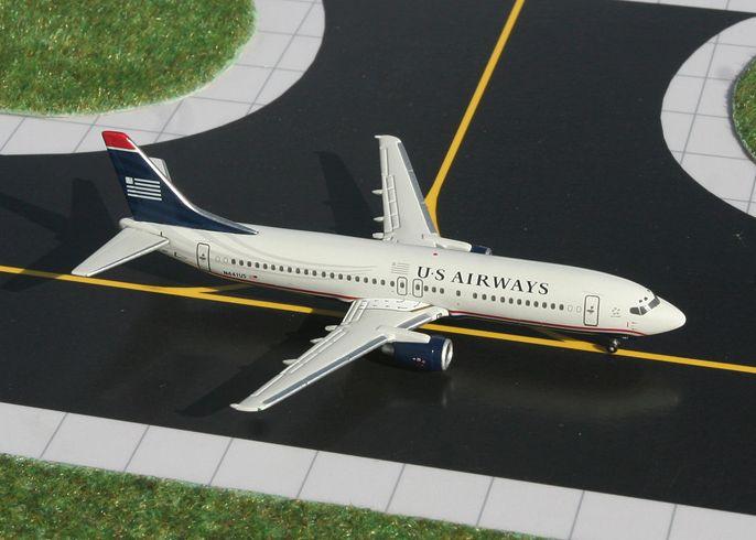 1/400 GeminiJets US Airways Boeing 737-400 Diecast Model