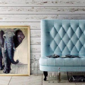Elephant art for stylish homes