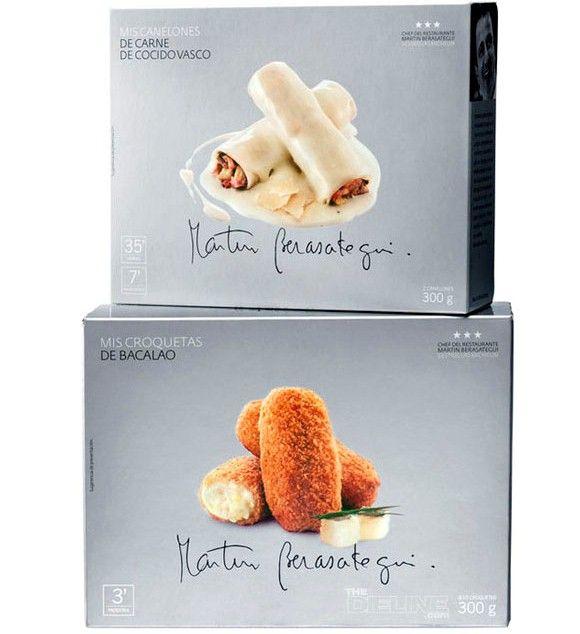 Упаковка замороженных продуктов