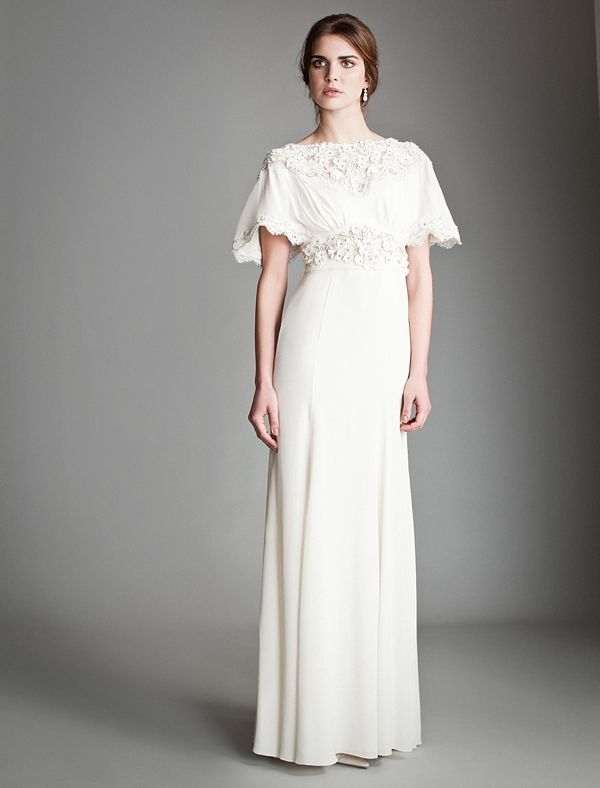 The Temperley Bridal Titania 2013 Collection Fantasy Wedding Dresses In Silhouettes That Celebrate Female Form