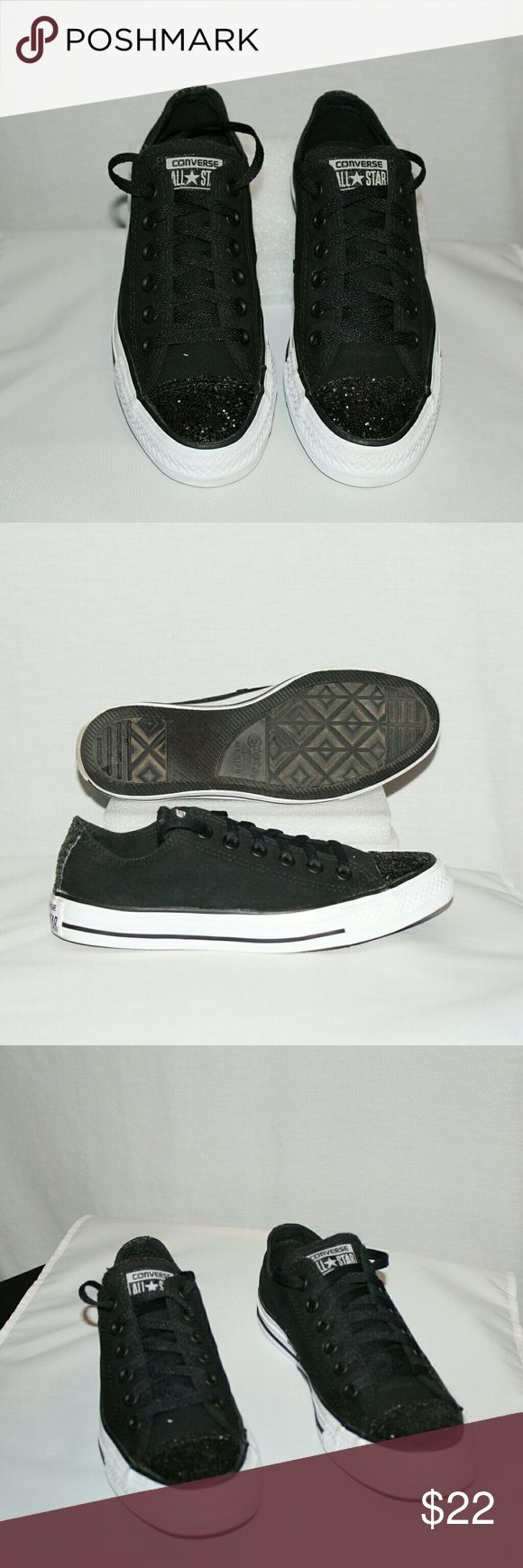 Converse All Stars Converse All Stars,  gently worn condition,  little wearing on the soles,  clean upper canvas , sized for women only, laces ups and go. Converse All Stars Shoes Sneakers