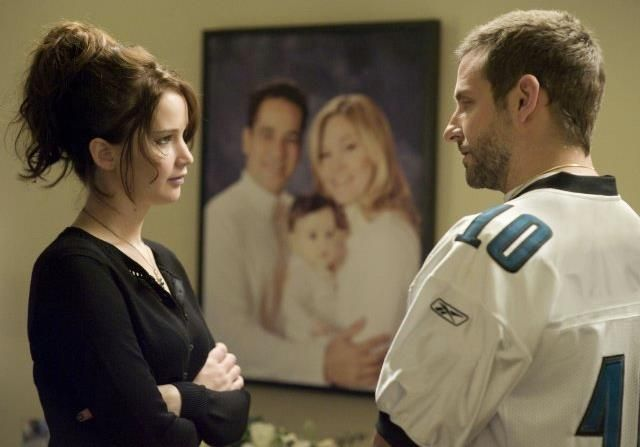 Jennifer Lawrence and Bradley Cooper in Silver Linings Playbook Don't forget to check out SIlver Linings Playbook on Facebook at http://on.fb.me/PP0Qf3