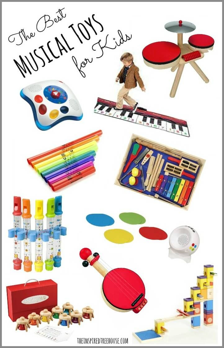 There are so many awesome musical toys for kids on the market these days...here are a few of our favorites!