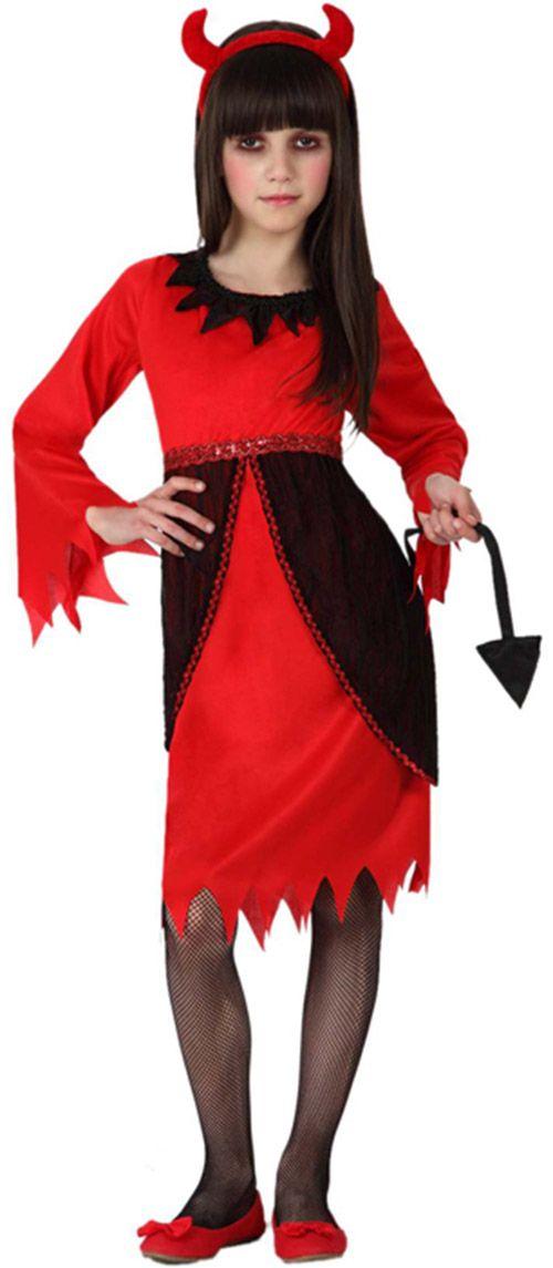 Déguisement diablesse rouge fille : Deguise-toi, achat de Déguisements enfants