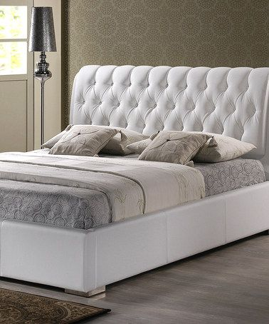 Take A Look At This White Bianca Tufted Modern Bed By Baxton Studio On  #zulily Nice Look