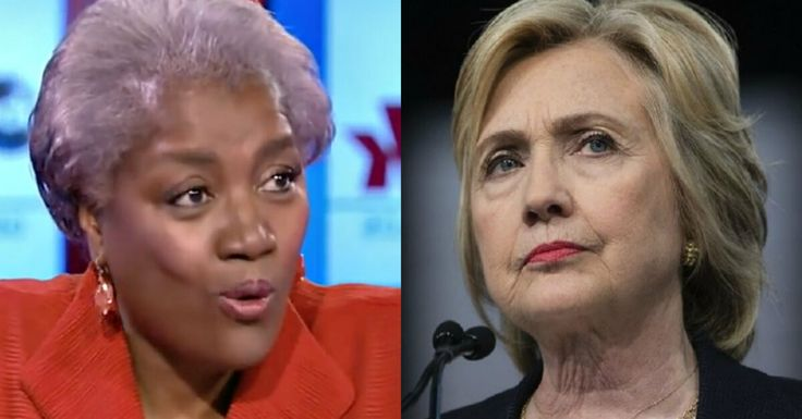 Donna Brazile Played the Race Card on Hillary and It Was Oh So Sweet