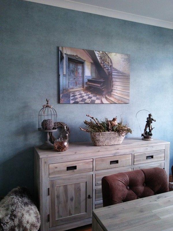 Diverse Wanddecoraties Aluminium.De Piano En De Trap Van Truus Nijland Op Canvas Behang En Meer