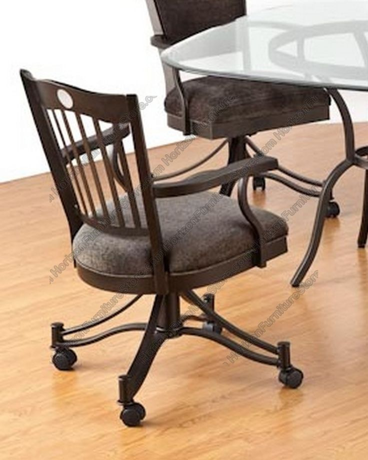 10 Best Dining Chairs On Rollers Images On Pinterest