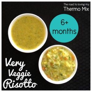 Very Veggie Risotto - The Road to Loving My Thermo Mixer