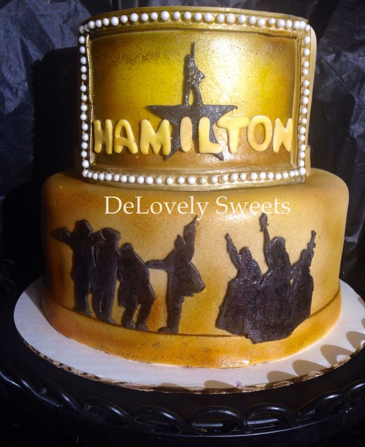 Broadway Musical Cake Toppers