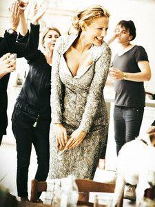 burda style: Damen - Kleider - Etuikleider - Etuikleid - bestickte Tüllspitze