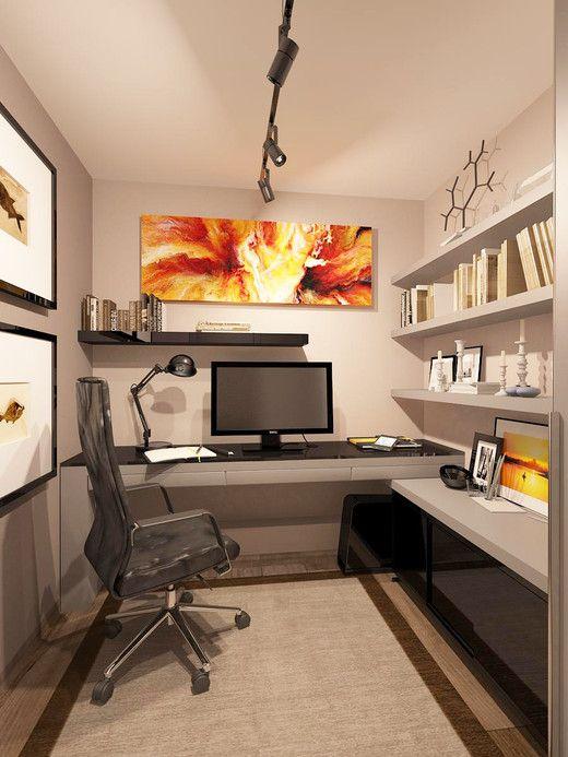 Современный кабинет. Кабинет; Библиотека