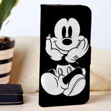 Mickey Mouse | Disney Cartoon | custom wallet case for iphone 4/4s 5 5s 5c 6 6plus case and samsung galaxy s3 s4 s5 s6 case