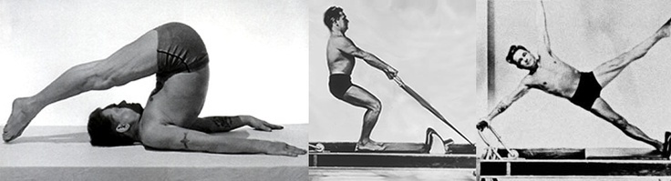 a young Joseph Pilates training on the mat and on the Reformer (2 & 3) n.d. #pilates