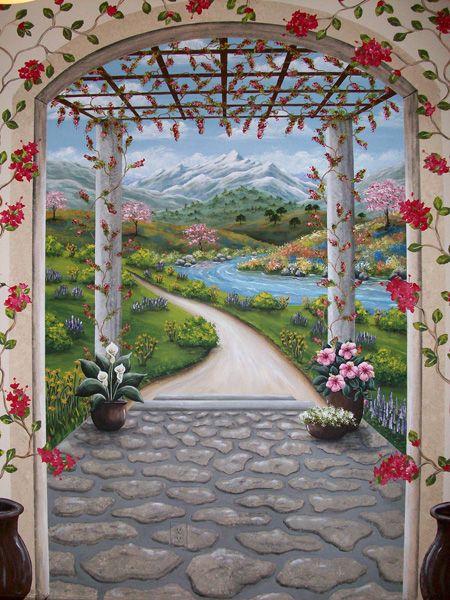 Becky Price Murals & Trompe L'Oeil
