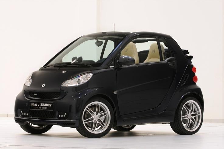 Brabus Smart Car ForTwo very much like mine, except mine has black leather interior <3 love it!