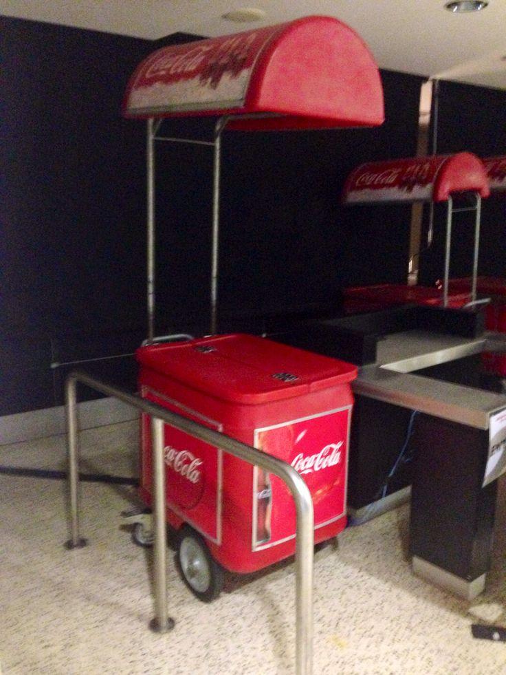 Coke cart