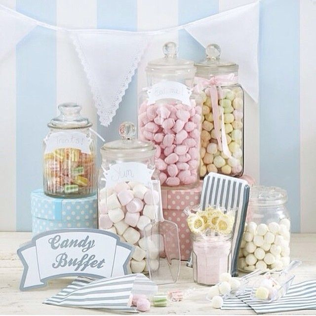 Godisbord / Candy buffet
