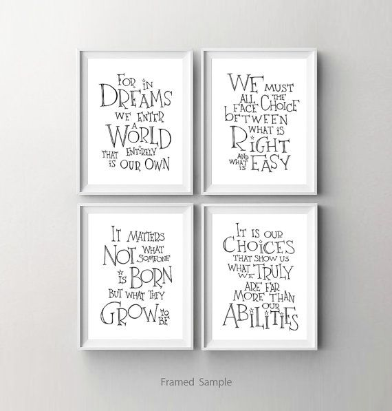 Harry Potter kwekerij decor kinderen voor in door SimpleSerene