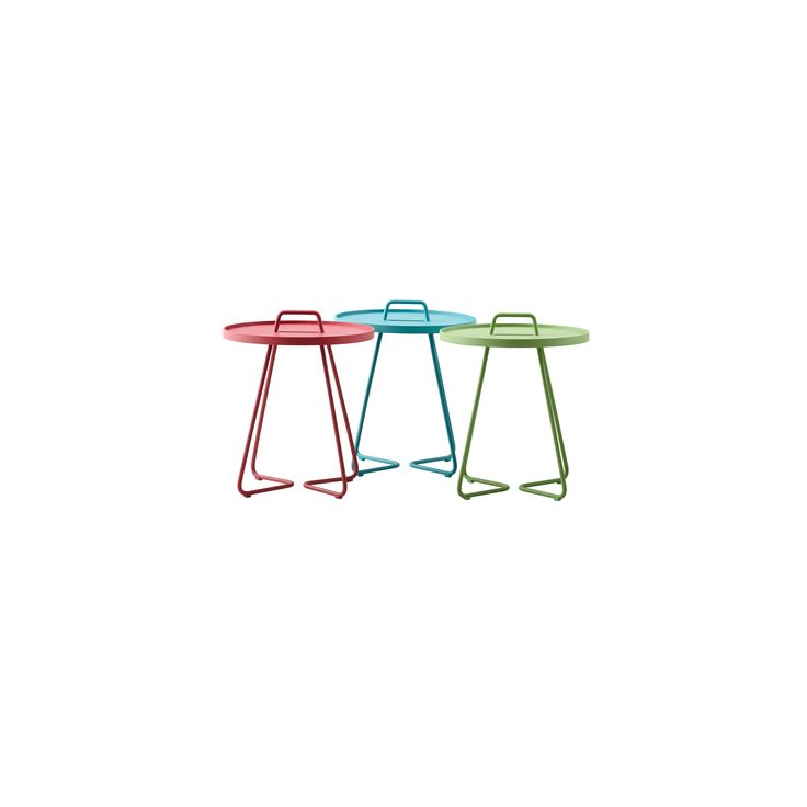 On The Move Is A Multifunctional Side Table Suitable For Indoor And Outdoor  Use. The Light Table Is Easy To Move Around From The Handle.