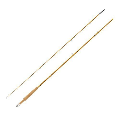 "Crafted Glass Fly Rod - 7'6"" Length, 2 Piece, Honey Gold Glass, Medium"