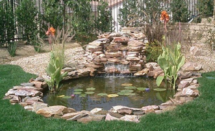 Garden fish pond design ideas pond pinterest gardens for Fishing ponds in san antonio
