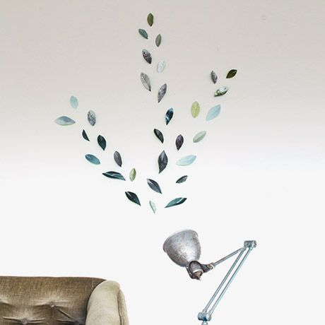Wallpaper Leaves - Green - by Pepe Heykoop & Tiny Miracles Foundation #MONOQI