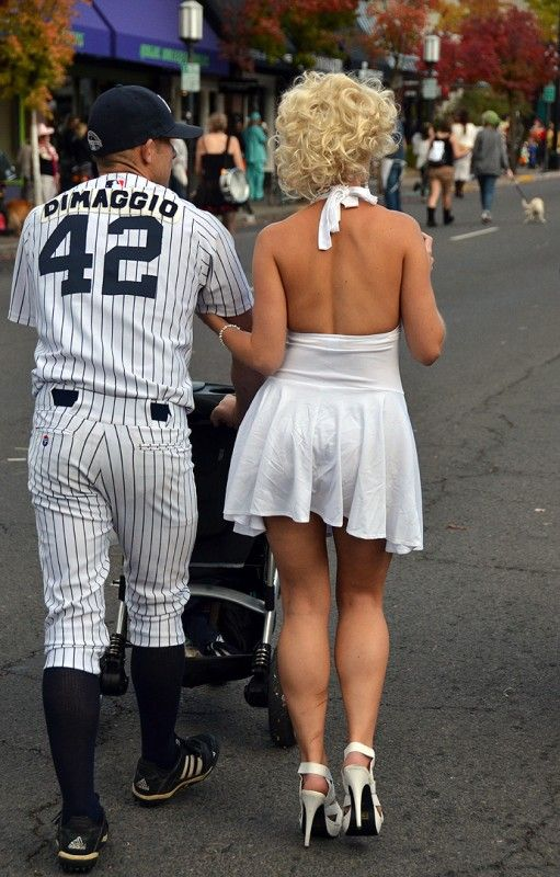 joe dimaggio costume | Joe DiMaggio & Marilyn Monroe couples Halloween costume