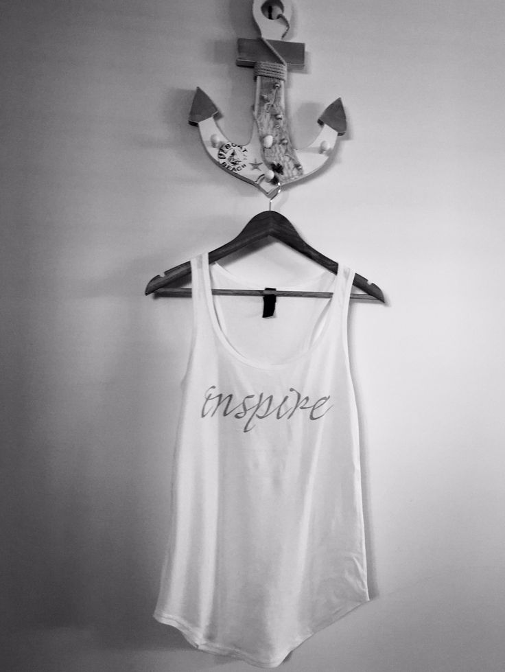 Harmony Inspired - INSPIRE Racerback Singlet (available in black or white)